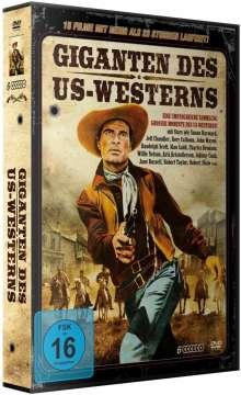 Giganten des US Westerns-Deluxe Edition (15 Filme auf 6 DVDs), 6 DVDs