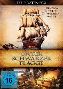 Unter schwarzer Flagge - Die Piraten-Box (9 Filme auf 3 DVDs), 3 DVDs