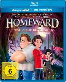 Homeward (3D Blu-ray), Blu-ray Disc