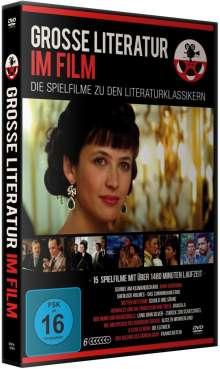 Grosse Literatur im Film-Deluxe Box (15 Filme auf 6 DVDs), 6 DVDs