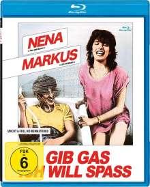 Gib Gas, ich will Spass (Blu-ray), Blu-ray Disc