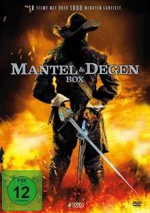 Mantel & Degen Box (10 Filme auf 4 DVDs), 4 DVDs