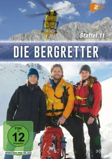 Die Bergretter Staffel 11, 3 DVDs