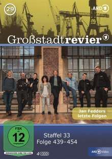 Großstadtrevier Box 29 (Staffel 33), 4 DVDs