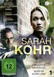 Sarah Kohr DVD 1: Der letzte Kronzeuge / Mord im Alten Land, DVD