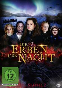 Die Erben der Nacht Staffel 2, 2 DVDs