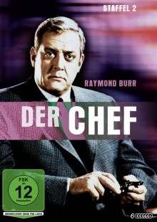 Der Chef Staffel 2, 6 DVDs