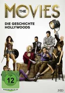 The Movies - Die Geschichte Hollywoods, 3 DVDs