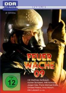 Feuerwache 09, 2 DVDs