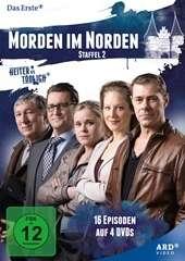 Morden im Norden Staffel 2, 4 DVDs