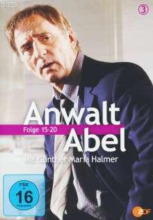 Anwalt Abel 3 - Ein Fall für Jean Abel (Folge 15-20), 3 DVDs
