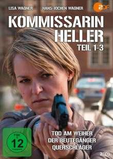 Kommissarin Heller: Teil 1-3, 2 DVDs