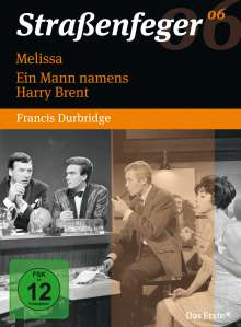 Straßenfeger Vol.6: Melissa / Ein Mann namens Harry Brent, 4 DVDs