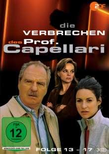 Die Verbrechen des Professor Capellari (Folge 13-17), 3 DVDs