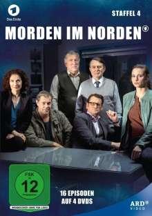 Morden im Norden Staffel 4, 4 DVDs