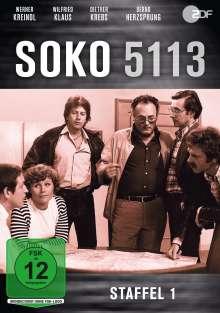 SOKO 5113 Staffel 1, DVD
