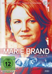 Marie Brand Vol. 1, 3 DVDs