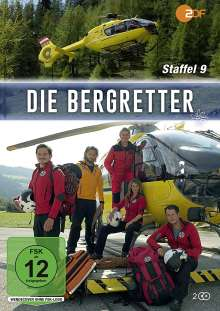 Die Bergretter Staffel 9, 2 DVDs