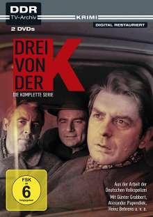 Drei von der K (Komplette Serie), 2 DVDs