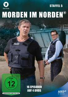 Morden im Norden Staffel 5, 4 DVDs