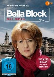 Bella Block Box 1, 3 DVDs