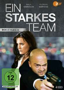 Ein starkes Team Box 2 (Film 9-16), 4 DVDs