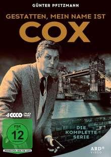 Gestatten, mein Name ist Cox (Komplette Serie), 4 DVDs