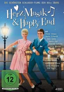 Herz, Musik & Happy End - Die schönsten Schlager-Filme der 60er Jahre, 4 DVDs