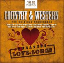 Country & Western: 200 Greatest Love-Songs, 10 CDs