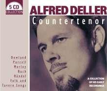 Alfred Deller - Countertenor, 5 CDs