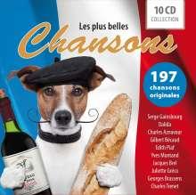 Chanson Sampler: Les Plus Belles Chansons, 10 CDs