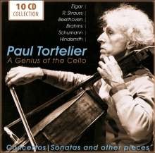 Paul Tortelier - A Genius of the Cello, 10 CDs