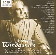 Wolfgang Windgassen - Der erste Heldentenor in Neu-Bayreuth, 10 CDs