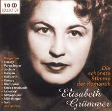 Elisabeth Grümmer - Die schönste Stimme der Romantik, 10 CDs