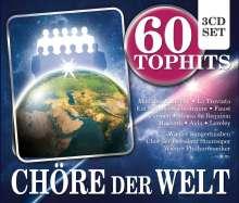 Chöre der Welt  - 60 Tophits, 3 CDs