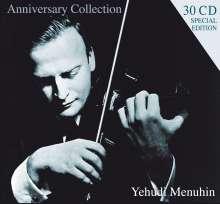 Yehudi Menuhin - Anniversary Collection, 30 CDs