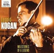 Leonid Kogan - Milestones of a Legend, 10 CDs