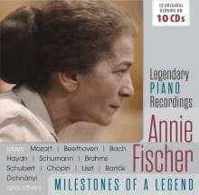 Annie Fischer - Milestones of a Legend, 10 CDs