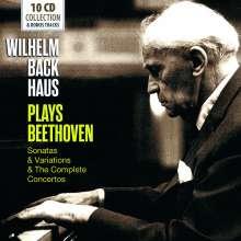 Wilhelm Backhaus plays Beethoven, 10 CDs