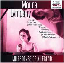 Moura Lympany - Milestones of a Legend, 10 CDs
