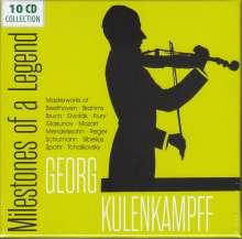 Georg Kulenkampff - Milestones of a Legend, 10 CDs
