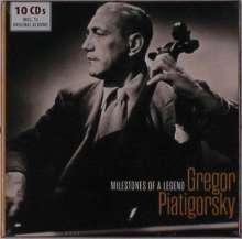 Gregor Piatigorsky - Milestones of a Legend, 10 CDs
