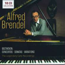 Alfred Brendel - Beethoven, 10 CDs