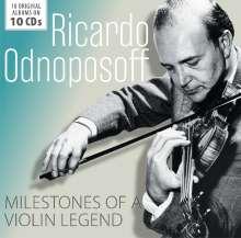 Ricardo Odnoposoff - Milestones of a Legend, 10 CDs