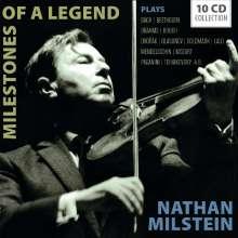 Nathan Milstein - Milestones of a Legend, 10 CDs