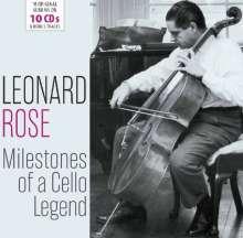 Leonard Rose - Milestones of a Legend, 10 CDs