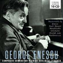 George Enescu - Composer / Conductor / Pianist / Violinist / Teacher, 10 CDs