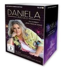 Daniela Alfinito: Du warst jede Träne wert (Fanbox), 1 CD, 1 DVD, 1 Buch und 1 Merchandise