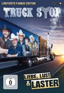 Truck Stop: Liebe, Lust & Laster (limitierte Fanbox), 1 CD, 1 DVD und 1 Merchandise