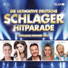 Die ultimative deutsche Schlager Hitparade - Frühling/Sommer 2021, 5 CDs